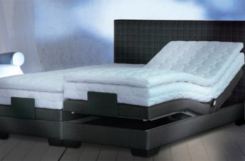 Continental bed
